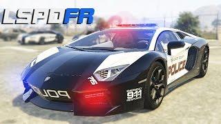 LA VOITURE DE POLICE LA PLUS RAPIDE - GTA 5 LSPDFR