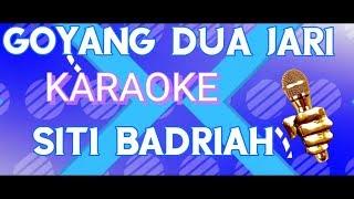 Siti Badriah goyang dua jari Dangdut karaoke