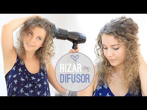 Como peinar el pelo rizado videos