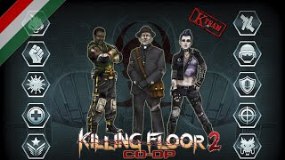 Killing Floor 2: Survival on Volter Manor Co-op Gameplay #9 (PC) (HUN) (HD)