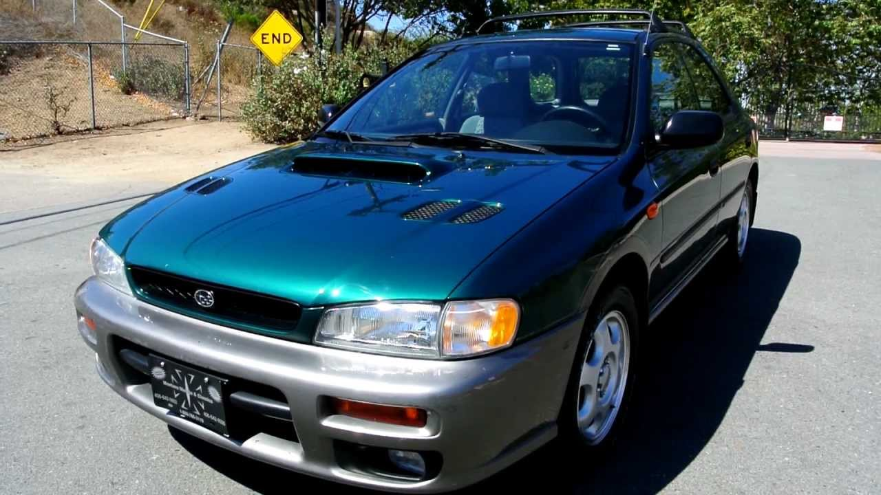 1998 subaru outback impreza sport station wagon pre wrx sports wagon youtube youtube