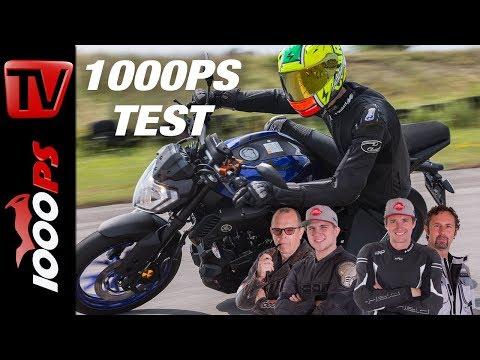 Yamaha MT-125 Test - Großer 125er Vergleich