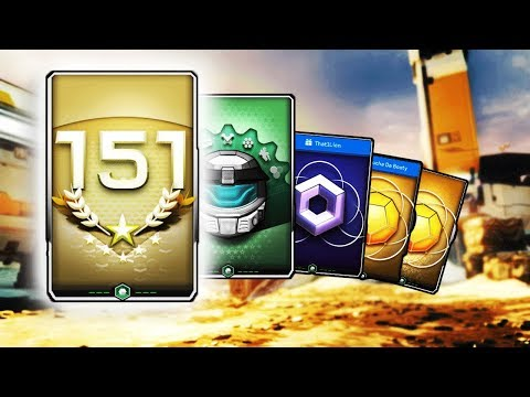 Halo 5: guardians - REQ Pack opening - SR 151 Pack + Gift Packs + 150 Gold Packs