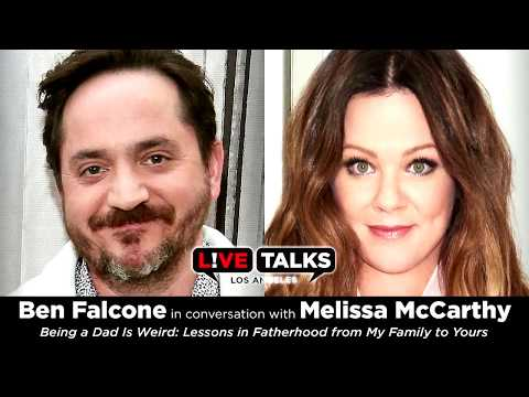 Ben Falcone in conversation with Melissa McCarthy at Live Talks Los Angeles