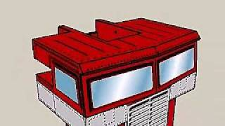 Optimus G1 for papercraft