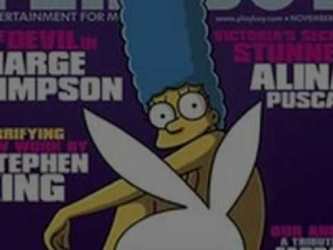 Halloween Marge Simspson Pose for PLAYBOY MAGAZINE from YouTube · Duration:  35 seconds