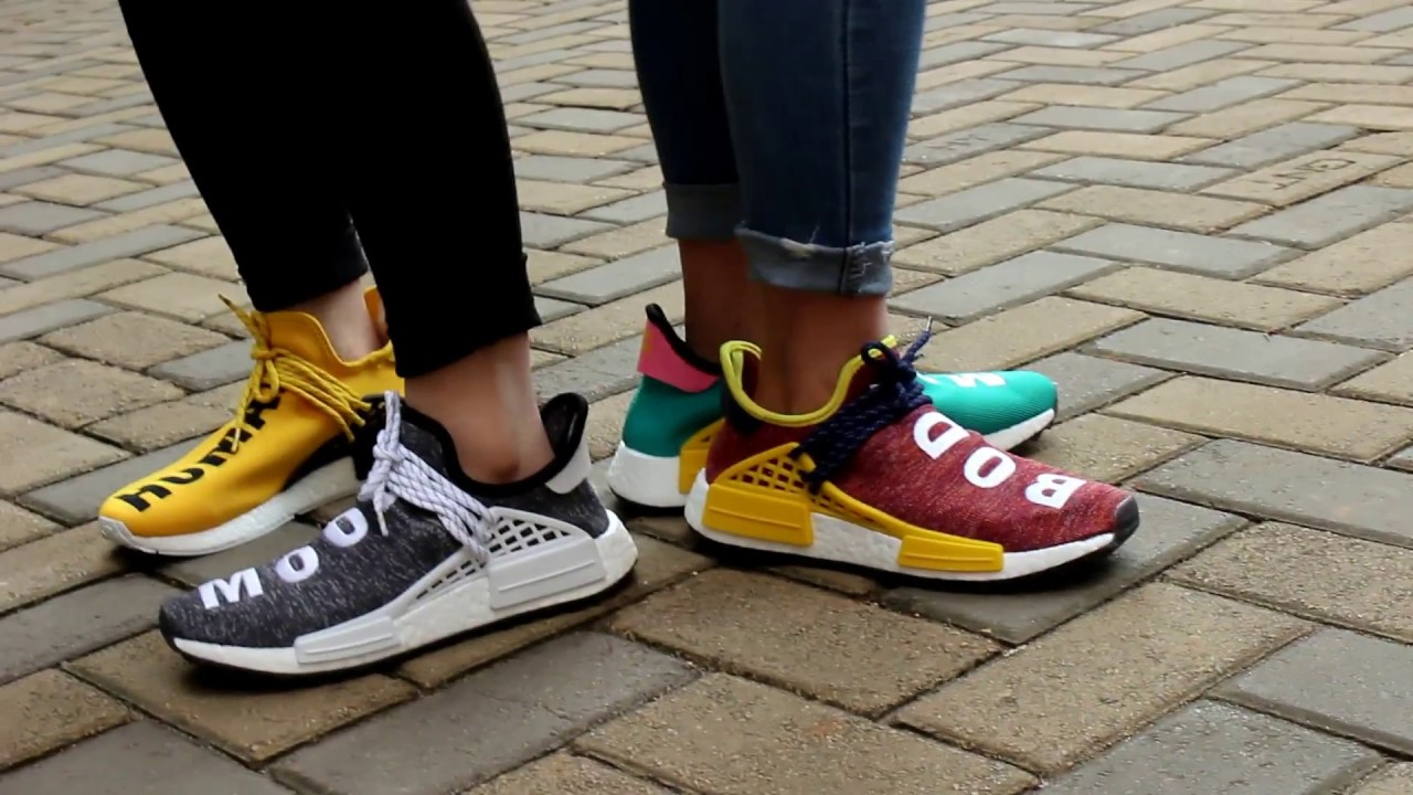 super popular e4a12 b7fc7 The Pharrell Williams Human Race Trail on Foot Review
