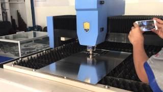 лазерная резка алюминий  и медь  латунь JQ волоконный лазер(, 2015-06-04T02:56:36.000Z)