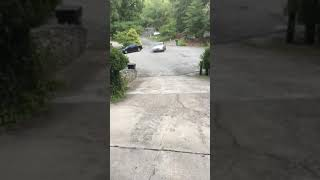 When your brakes go out on a hill! thumbnail