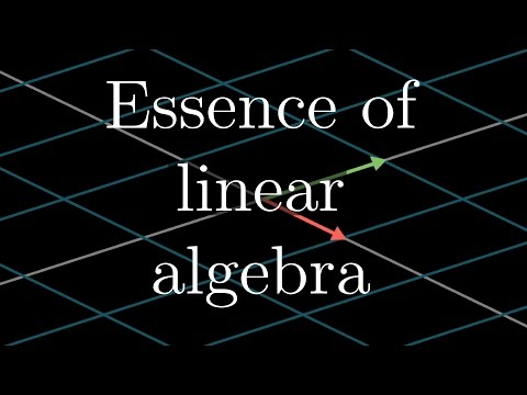 Essence of linear algebra preview