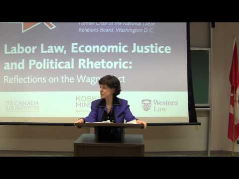 "Wilma Liebman, ""Labour Law, Economic Justice and Political Rhetoric: Reflections on the Wagner Act"""