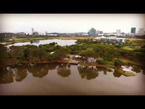 First Drone Trip by Phantom 4 , Cyberjaya