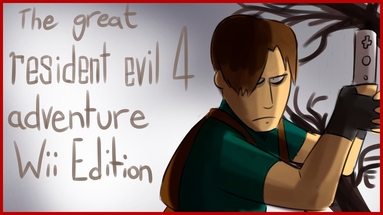 Bad Fanfiction Theatre | RESIDENT EVIL 4 ADVENTURE WII ...