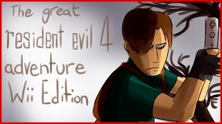 Bad Fanfiction Theatre   RESIDENT EVIL 4 ADVENTURE WII EDITION