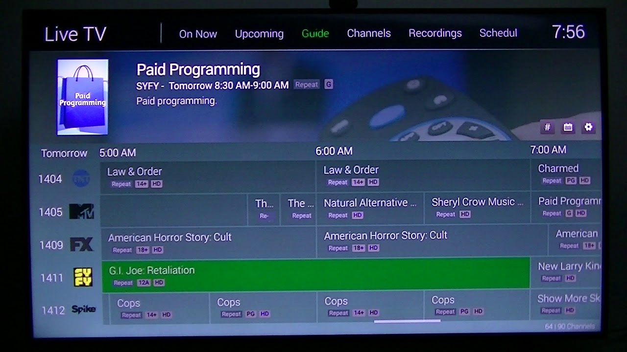 HDHomeRun Premium Channels Running on Emby Client