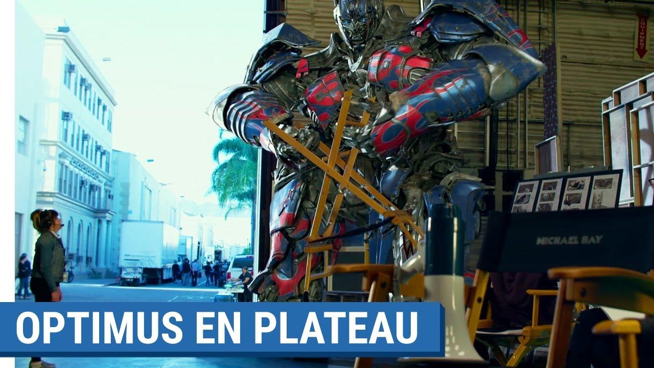TRANSFORMERS : THE LAST KNIGHT - Optimus en plateau (VOST)