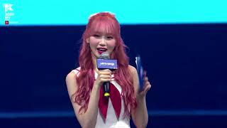 Iz*one members speaking English in KCON NY 2019