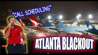 THE LIFE OF A FLIGHT ATTENDANT Ep.26 | ATLANTA AIRPORT BLACKOUT (CANCELLED) | VLOGMAS DAY 18