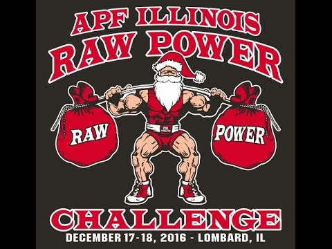 2016 APF AAPF Illinois Raw Power Challenge Day 1