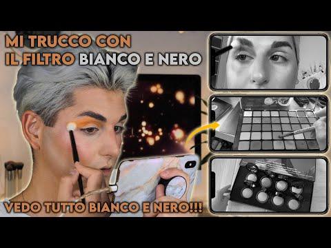 MI TRUCCO VEDENDO SOLO IN BIANCO E NERO 🙈 *scioccobasy* 😱 | Antonio Di Matteo from YouTube · Duration:  18 minutes 51 seconds