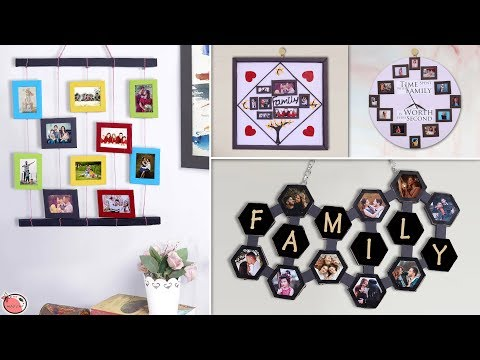 10 DIY Crafty Photo Frame Making Ideas !!! Handmade Things