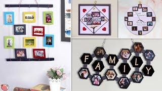 10 DIY Crafty Photo Frame Making Ideas !!! Handmade Things Video