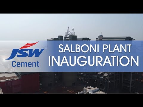 JSW Cement Salboni Plant Inauguration, West Bengal