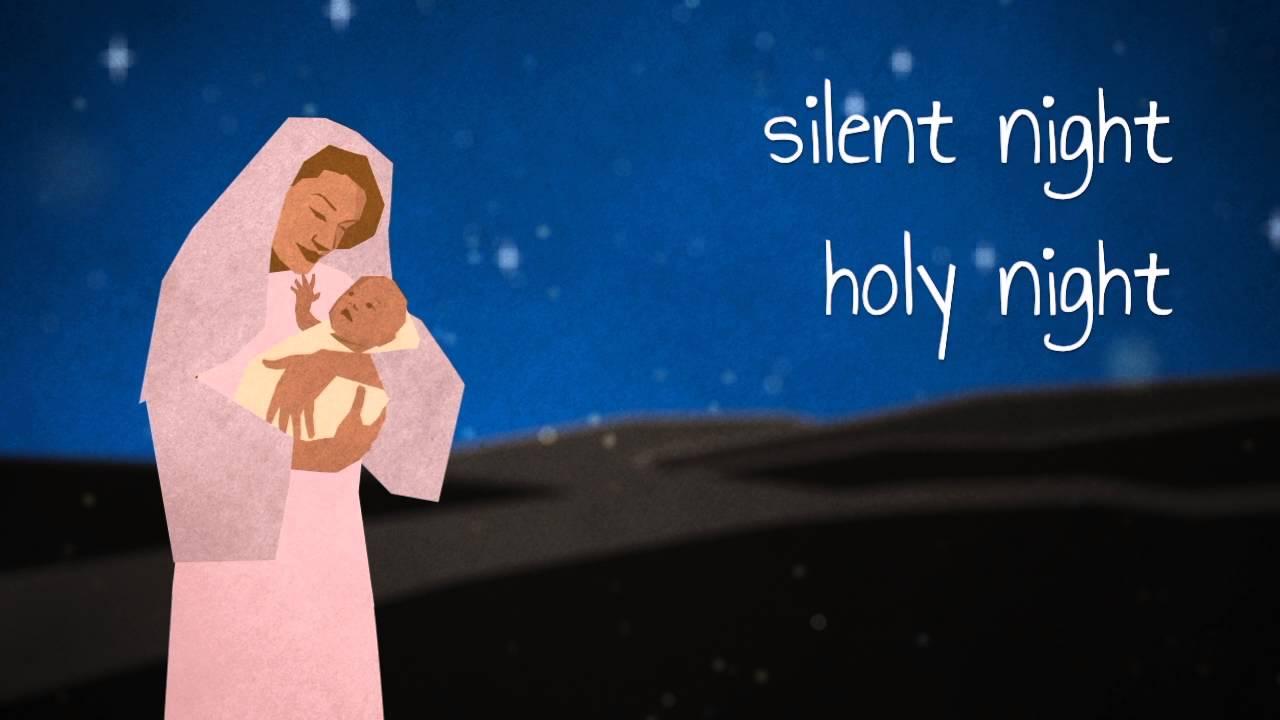 silent night kids version w lyrics youtube - Christmas Songs Lyrics Youtube