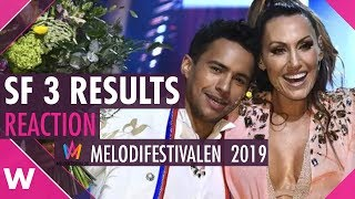 SF 3 Leksand Results Reaction @ Melodifestivalen 2019 | wiwibloggs