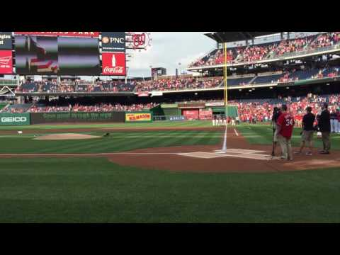 Washington Nationals National Anthem