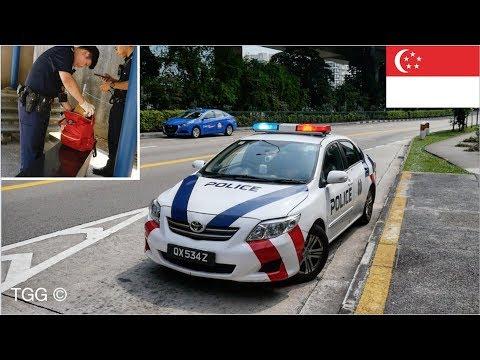 [Singapore] Police Car On Scene (Suspicious Bag Investigation) NEW Livery