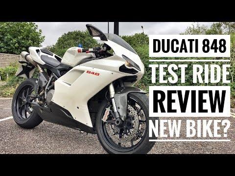 Ducati 848 Test Ride Review - New Bike?