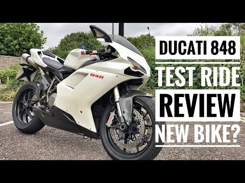 Ducati 848 Test Ride Review - New Bike?
