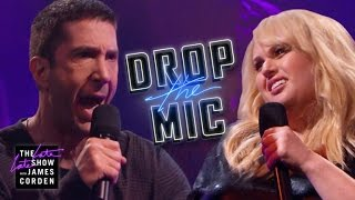 Drop the Mic v David Schwimmer and Rebel Wilson