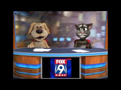 KMSP FOX 9 NEWS: The 20th Century Fox Logo Goes Pink!