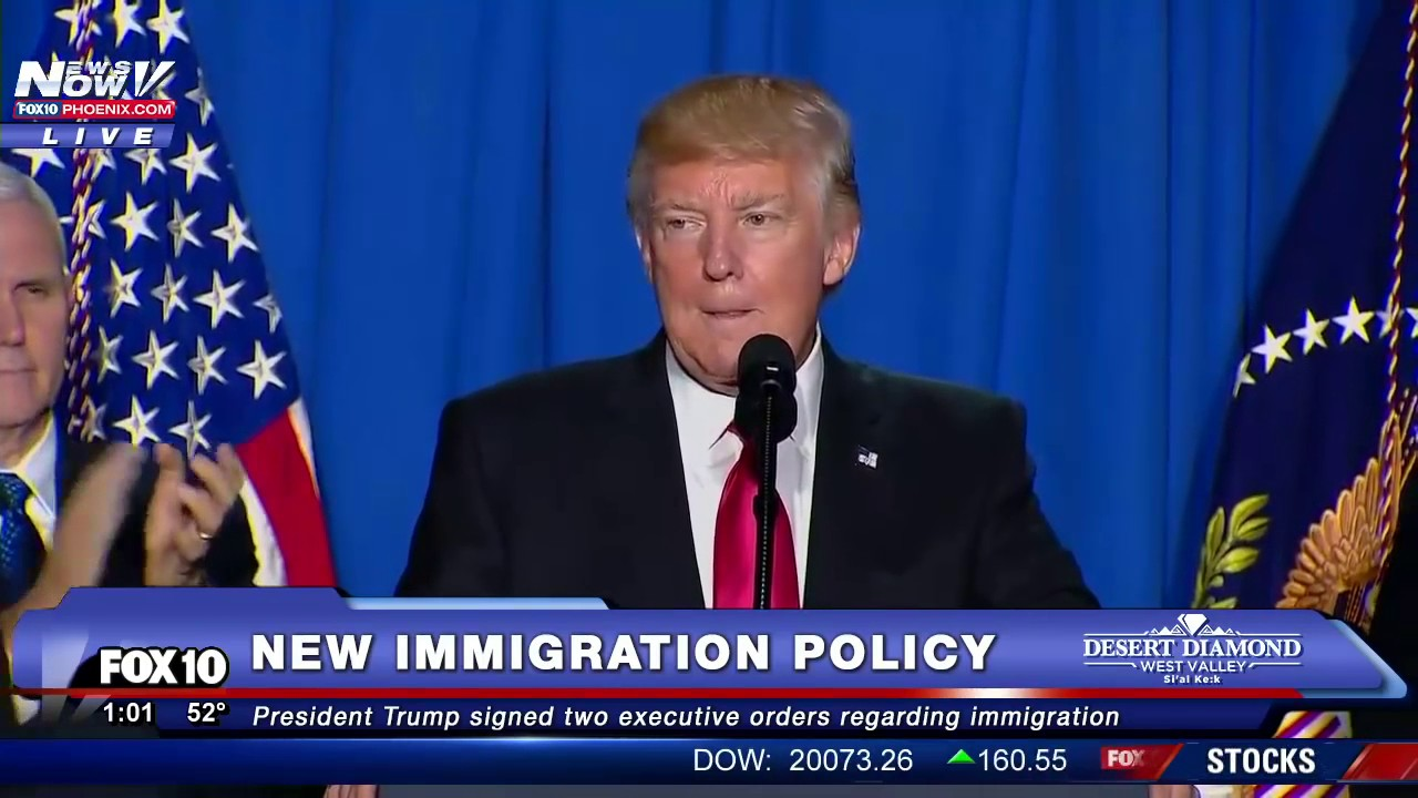 illegal immigration speech Browse immigration policy  economic successes and laid out his immigration plan in an 80-minute speech to congress  promises to forcibly evict several million illegal immigrants, trump has.
