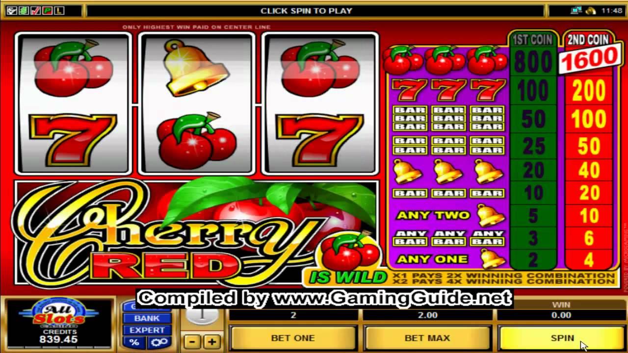 Spiele Cherry Red - Video Slots Online