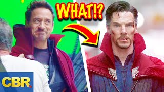Will Tony Stark Learn Dr. Strange Mystic Tricks In Marvel's Avengers 4?