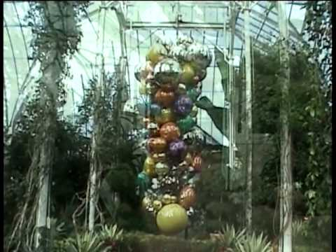 Dale Chihuly Glass Sculpture The New York Botanical Garden Youtube