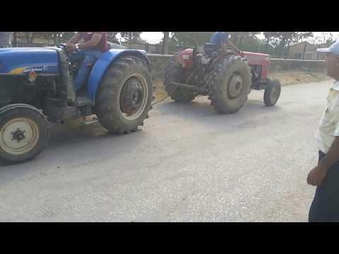New holland tt 55 vs massey ferguson 240 traktör çekişmesi
