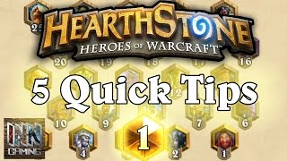 Hearthstone: 5 Quick Tips To Make You A Better Player (Episode 1)
