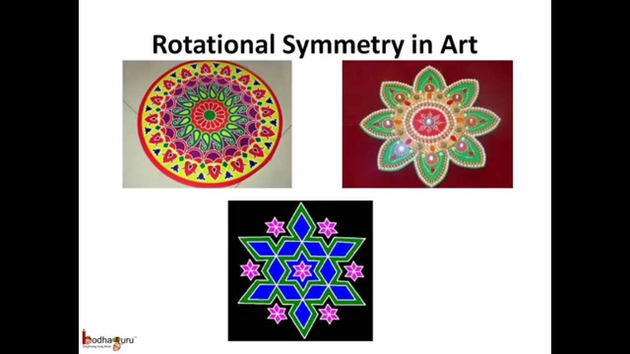 Rotational Symmetry Art Project