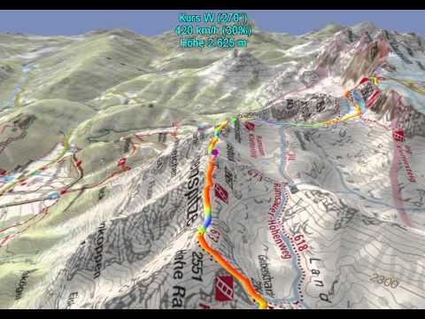 Klettersteig Ramsau : Westgratsteig ramsauer klettersteig