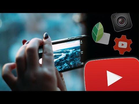 YouTube Videos erstellen am Handy (Tutorial)