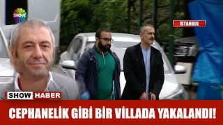 Gambar cover Sedat Şahin cephanelik gibi bir villada yakalandı!