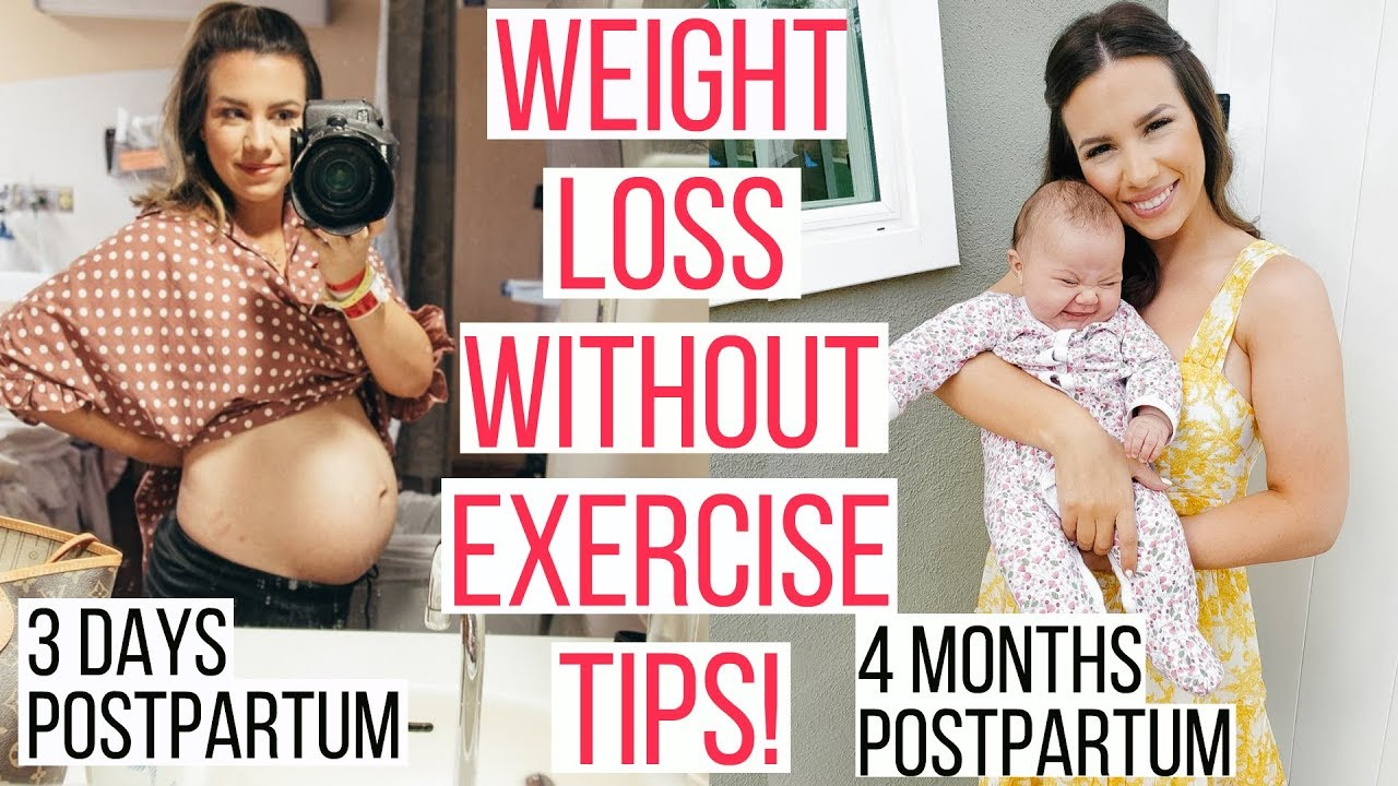 HOW I LOST THE BABY WEIGHT (30LB!) | POSTPARTUM WEIGHT LOSS TIPS