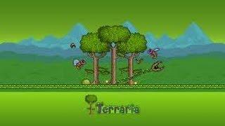 Terraria Jour 1- Des morts, des fails...