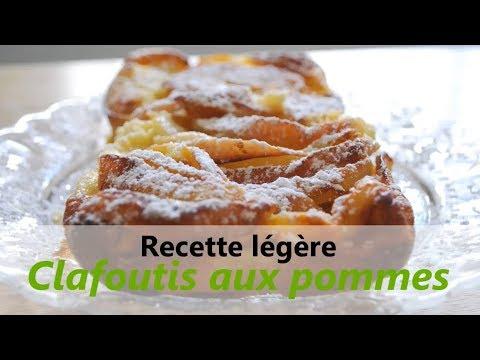 RECETTE facile & légère : Clafoutis aux pommes