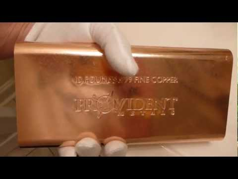 Provident Metals 10 Pound Copper Bar Review & Opinions