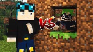 DANTDM VS BIJUU MIKE IN MINECRAFT! (Animation)